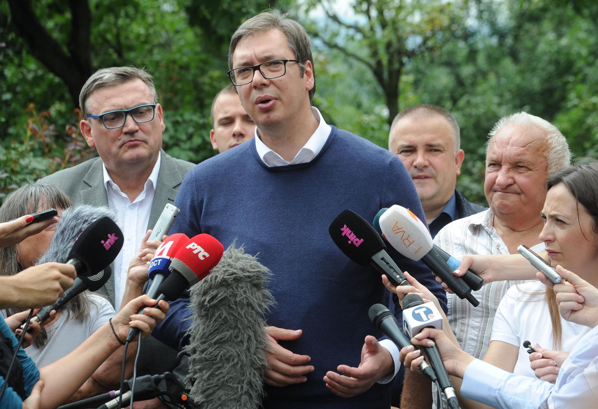 FOTO: Aleksandar Vučić (N1)