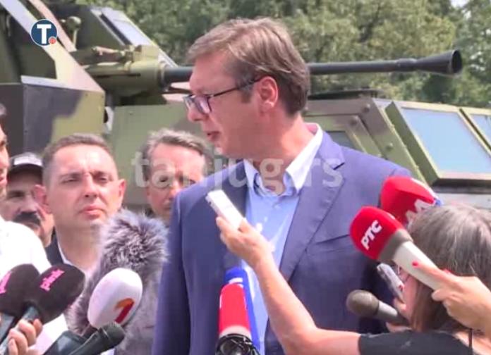 Vučić o broju preostalih Srba i prilogu VOA