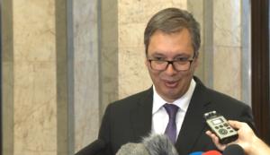 Predsednik Srbije Aleksandar Vučić na Dan šaha