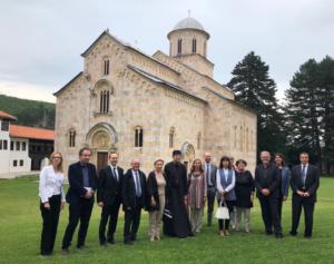 Evropski ambasador u poseti manastiru Visoki Dečani i Specijalnoj zaštićenoj zoni