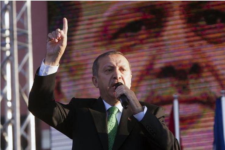 Predsednik Turske Redžep Tajip Erdogan