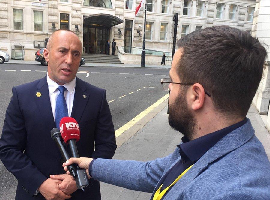 Haradinaj u Londonu