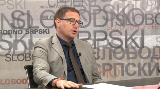 Dragiša Mijačić u emisiji Slobodno srpski o dijalogu Beograda i Prištine