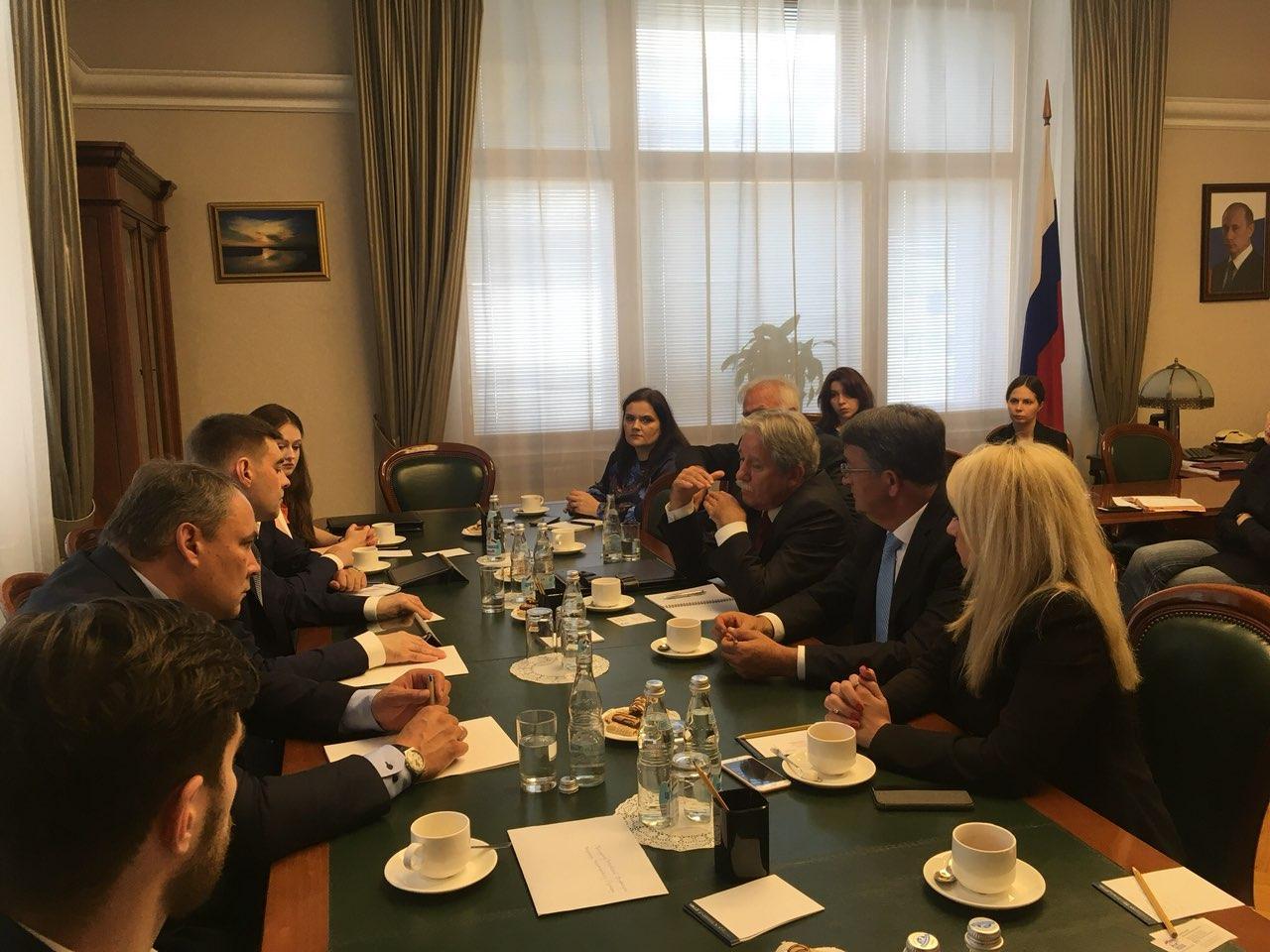 Srspka delegacija sa Kosova i iz Beograda u ruskoj dumi
