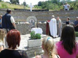 Parastos ubijenim Srbima i Romima u Orahovcu 2017