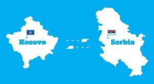 Kosovo Srbija karta