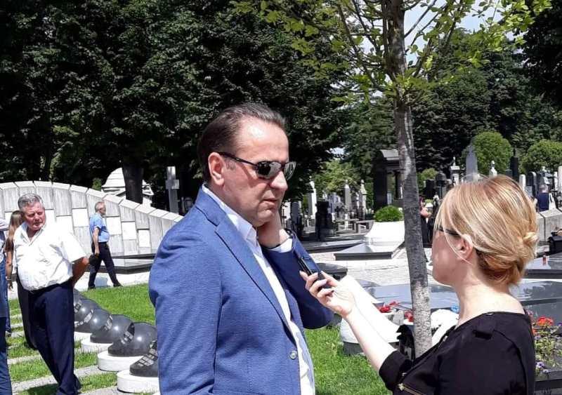 oliver ivanovic 6 month memorial service in Belgrade Minister Rasim Ljajic