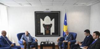 Milan Radojičić i Ramuš Haradinaj
