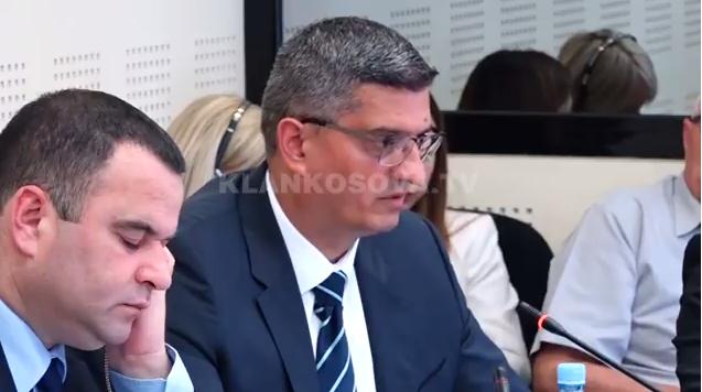 Ministar poljoprivrede u Vladi Kosova Nenad Rikalo pred skupštinskom odborom