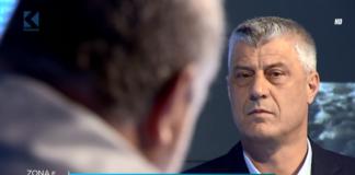 """Hašim Tači u emisiji """"Zona debate"""" na Kljanu Kosova sa Batonom Hadžiuom"""