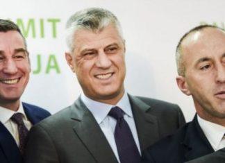 Kosovski predsednik, premijer i predsednik skupštine
