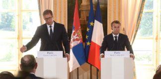 Vučić i Makron