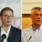 Aleksandar Vučić i Hašim Tači