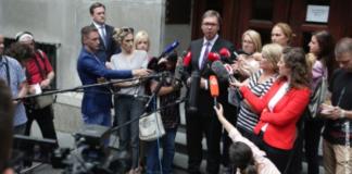 Predsednik Srbije pred patrijaršijom u Beogradu