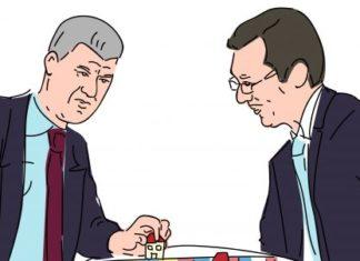 Hashim Thaci and Aleksandar Vucic/Prishtina insight