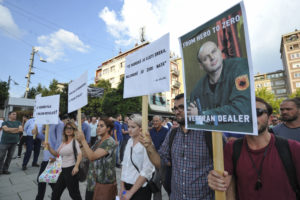 Sa protesta u Prištini