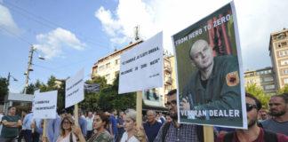 Sa protesta u Prištini, Foto: Kallxo