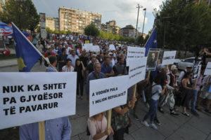 Protest u Prištini