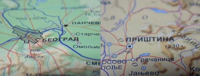Beograd Pristina,Mapa