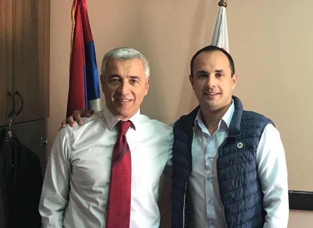 Aleksandar Ivanović sa stricem