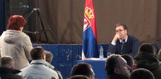 Aleksandar Vučič u Lapljem Selu (Foto arhiva Kim)