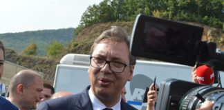 Aleksandar Vučić Gazivode, FOTO: KoSSev