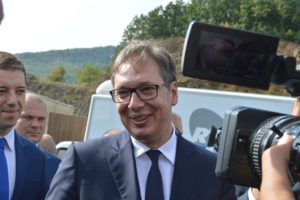 Aleksandar Vučić, Gazivode, FOTO: KoSSev