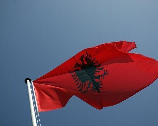 Zastava albanije
