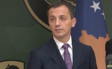 Ministar odbrane Crne Gore Predrag Bošković