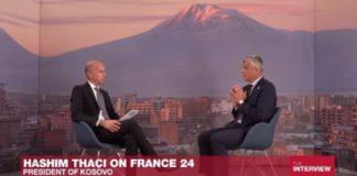 Hašim Tači France 24