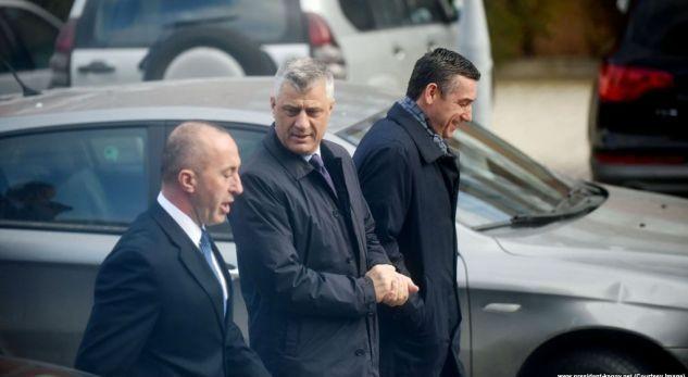 Hašim Tači, KadriVeselji, Ramuš Haradinaj
