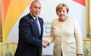 Haradinaj i Merkel