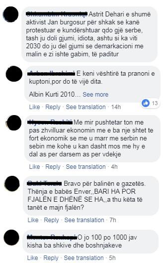 FB Zeri komentari