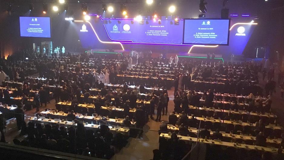 Osamdeset i sedma Generalna skupština INTERPOL-a, Dubai, novembar 2018; FOTO: Tanjug/MUP R. Srbije