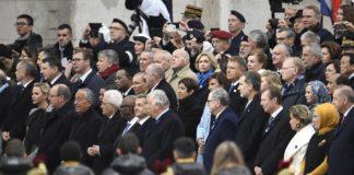 Komemoracija povodom 100 godina od primirja u Prvom svetskom ratu Pariz
