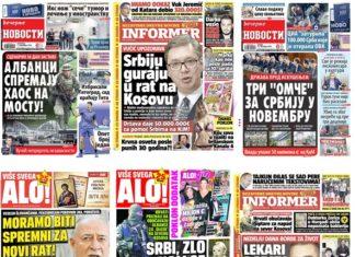 Naslovne strane Kosovo