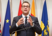 Austrijski vicekancelar Hajnc-Kristijan Štrahe