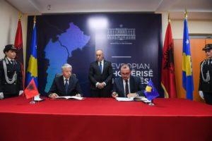 Haradinaj potpisivanje sporazuma o zajedničkim prelazima