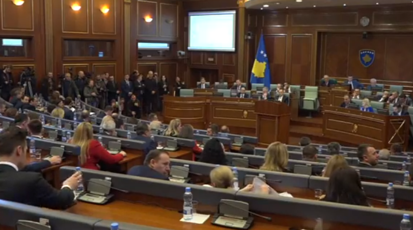 Sednica kosovske skupštine Izglasavanje zakona o Vojsci