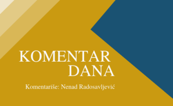 Komentar dana Komentariše: Nenad Radosavljević