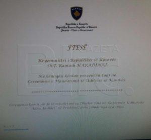 pozivnica vojska kosova