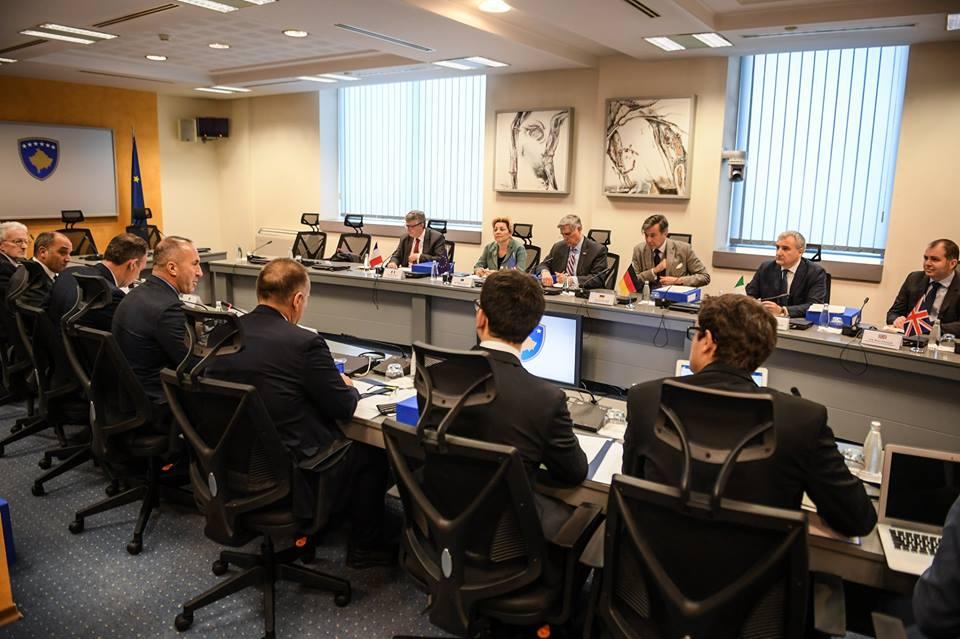 vlada kosova zemlje kvinte