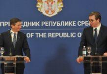 Aleksandar Vučić i Pahor