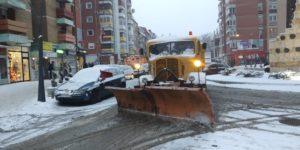 Sneg putevi. čišćenje snega, Kosovska Mitrovica