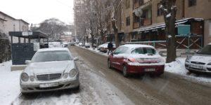 Saobraćaj Put Sneg Uslovi vremenski