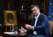 Aleksandar Vučić u intervjuu za Espreso