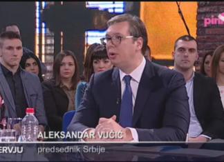 Aleksandar Vucic Pink