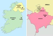 Severno Kosovo Severna Irska