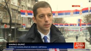 Marko Đurić, TV Prva KiM