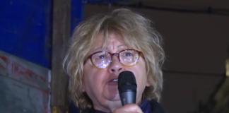 Rada Trajković Protest